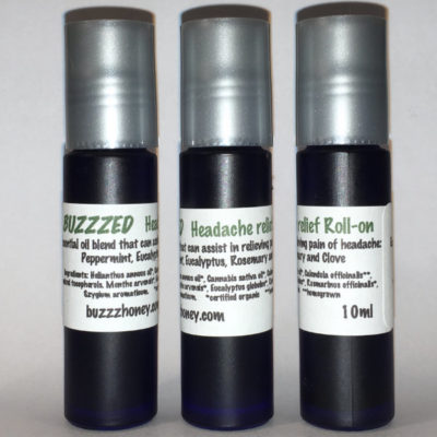 Headache Relief Oil- Roll On - BuzzzHoney Products
